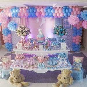 Decoracion De Baby Shower Para Nino Y Nina.Decoracion Para Baby Shower Gemelar Nina Y Nino Bebe Y Amor